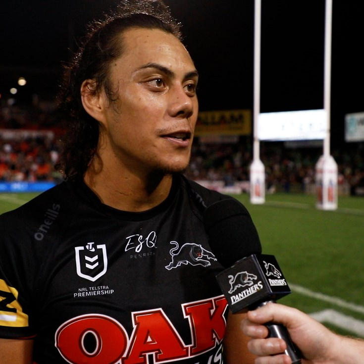 Jarome Luai breaks down win over Canberra Raiders