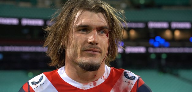 Bloodied Crichton on his 100th NRL game and Sam Walker