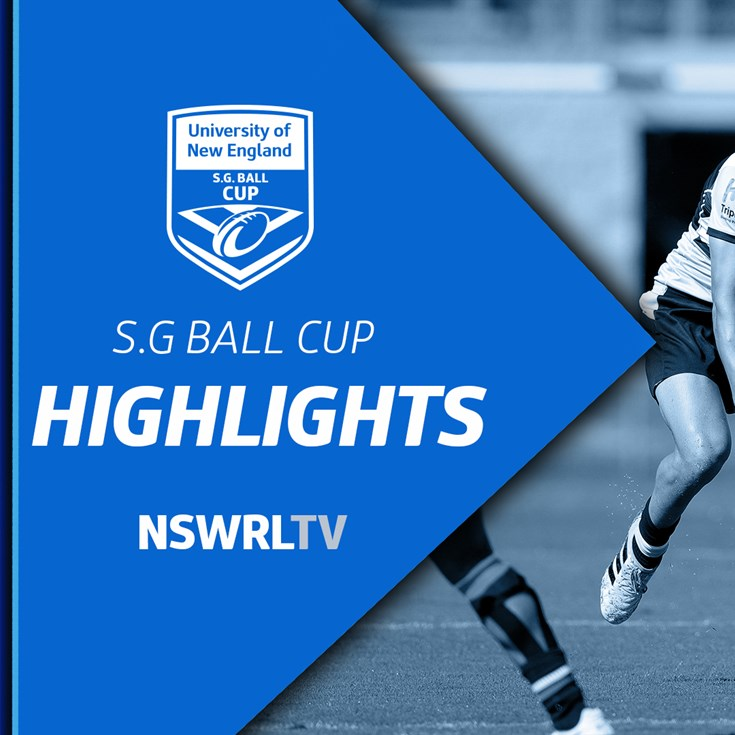 NSWRL TV Highlights UNE SG Ball Round 9