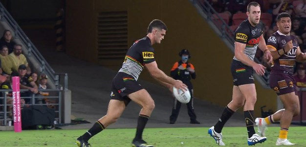 Nathan Cleary nails two-point field goal