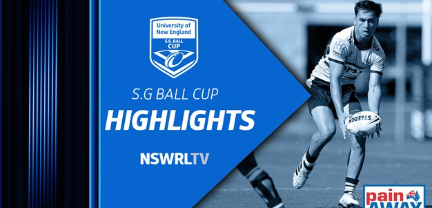 NSWRL TV Highlights | UNE SG Ball Cup Grand Final