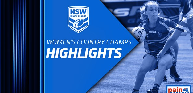 NSWRL TV Highlights Women's Country Championships Grand Final