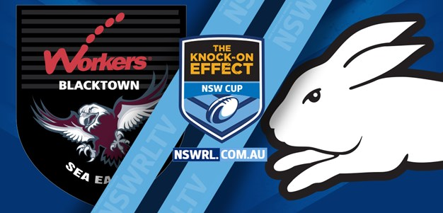 NSW Cup Highlights Rabbitohs v Sea Eagles Round 9