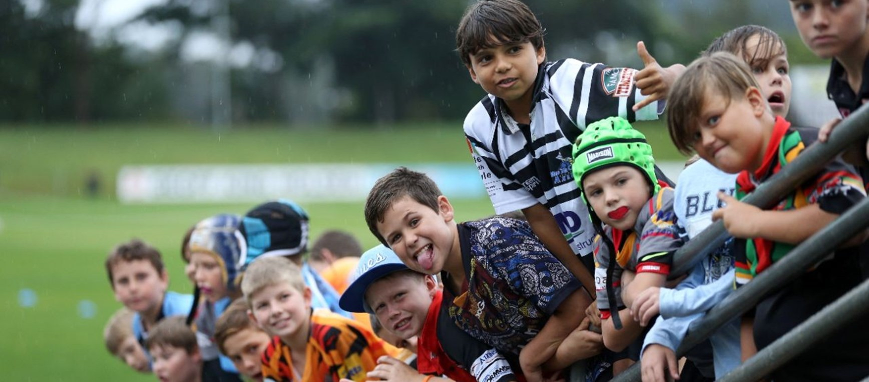 GALLERY: Blues meet Coffs' kids