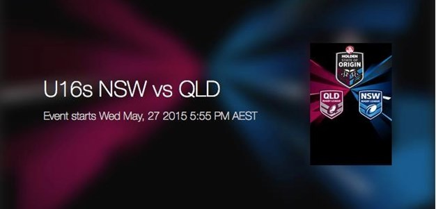 U16s NSW vs QLD