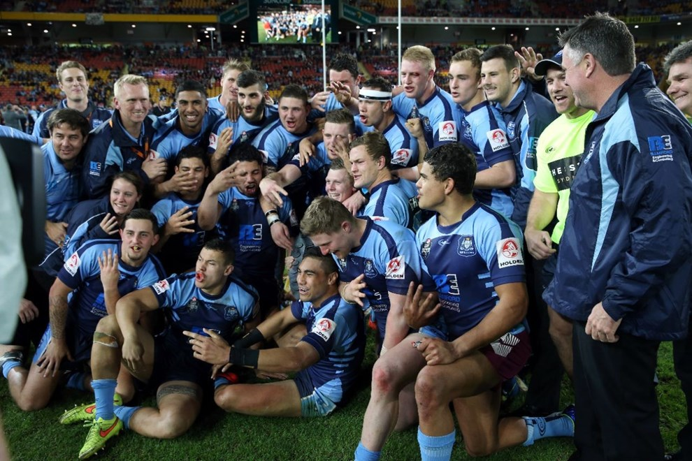 NSW 20s Won  :Digital Image Grant Trouville © NRLphotos  : NRL Rugby League - State Of Origin  - Game 3 at Suncorp Stadium, July 8th Brisbane   2015.