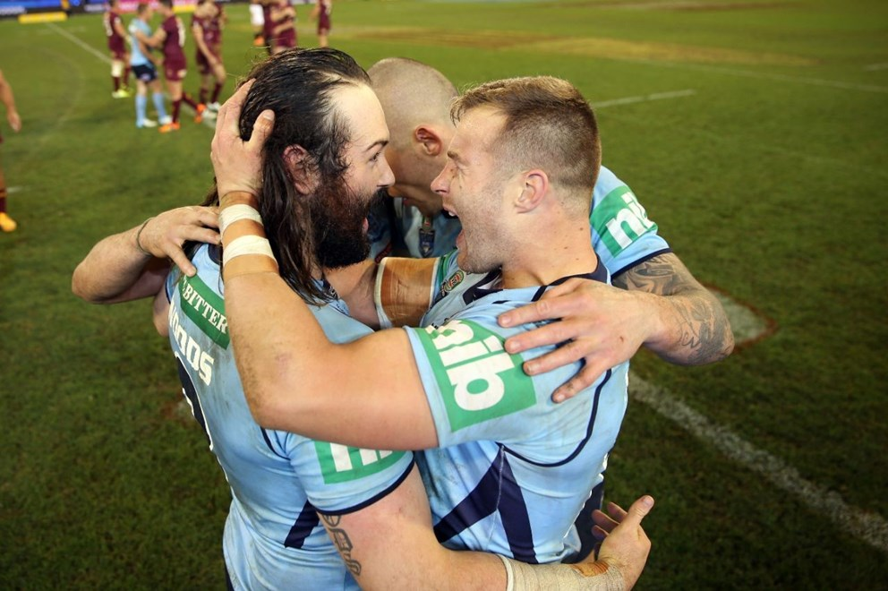 NSW Win  :Digital Image Grant Trouville © NRLphotos  : NRL Rugby League State of Origin - Game 2 at the Melbourne Cricket Ground MCG Wednesday the 17th June  2015.