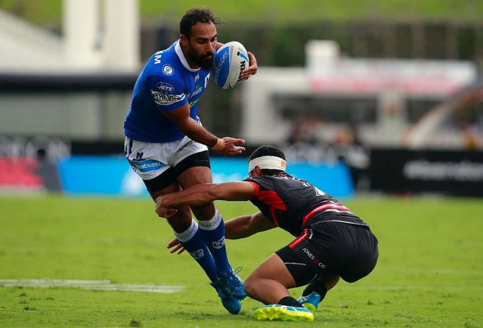 Competition - ISP NSW Cup Round - Round 03 Teams – NZ Warriors v Newtown Jets Date – 20th of March 2016 Venue – Mt Smart Stadium, Auckland, NZ Photographer – Shane Wenzlick
