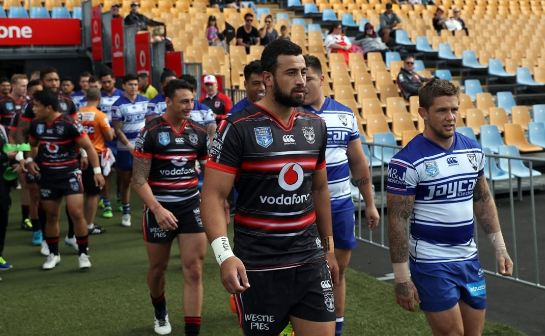 Competition - ISP NSW Cup Round - Round 09 Teams – NZ Warriors v Canterbury Bulldogs Date – 1st of May 2016 Venue – Mt Smart Stadium, Auckland, NZ Photographer – Shane Wenzlick