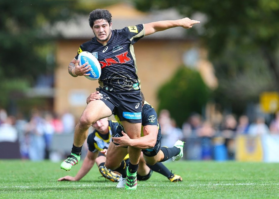 Competition - Intrust Super Premiership Round - Round 09 Teams - Penrith Panthers v Mounties - 30th of April 2016 Venue - Carrington Park, Bathurst, NSW, Photographer - Paul Barkley