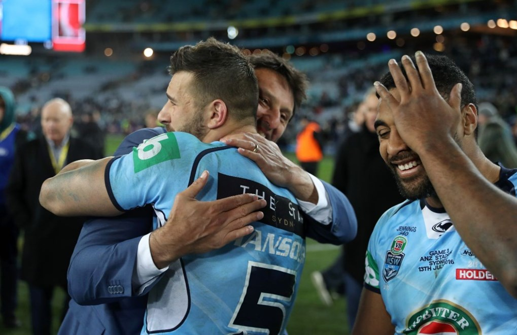State of Origin 3 - NSW v QLD, July 13th 2016.