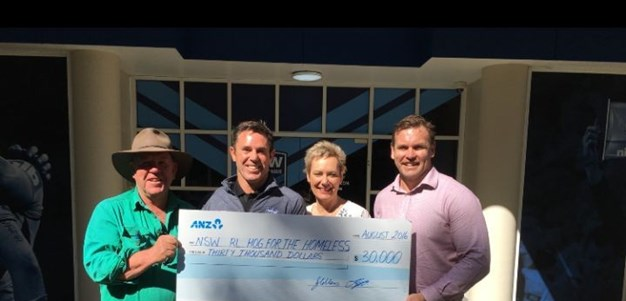 Hawkesbury Race Club Donate $30,000 To Hogs
