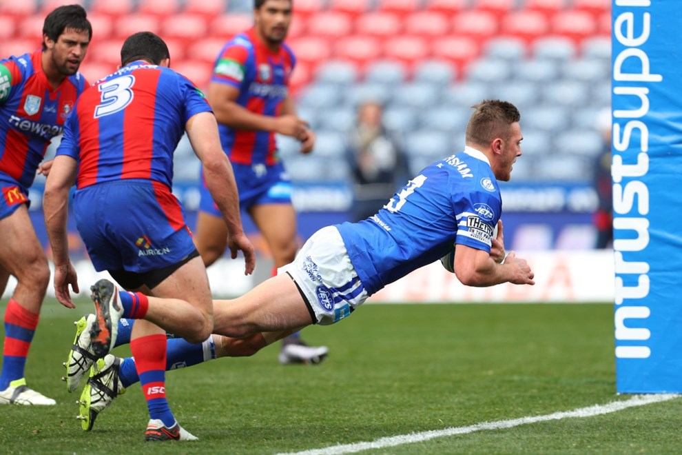 Competition - ISP Premiership Round. Round - Round 22. Teams - Newcastle Knights v Newtown Jets. Date - 6th of August 2016. Venue - Hunter Stadium, Broadmeadow, NSW. Photographer - Paul Barkley.