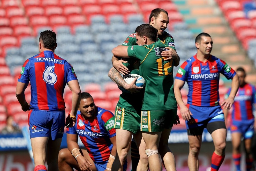 Competition - Intrust Super Premiership - Newcastle Knights v Wyong Roos - Saturday 20 August 2016  Hunter Stadium Broadmeadow NSW - Photographer Shane Myers © nrlphotos.com
