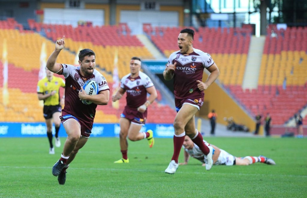 Cameron CULLEN (BURLEIGH BEARS) - PHOTO:SMPIMAGES.COM - 25th September 2016 - Queensland Rugby League (QRL) Grand Final Day -  Game day Action from the 2016 QRL Intrust Super Cup Rugby League Grand Final at Suncorp Stadium Brisbane, Between the Burleigh Bears v Redcliffe Dolphins.