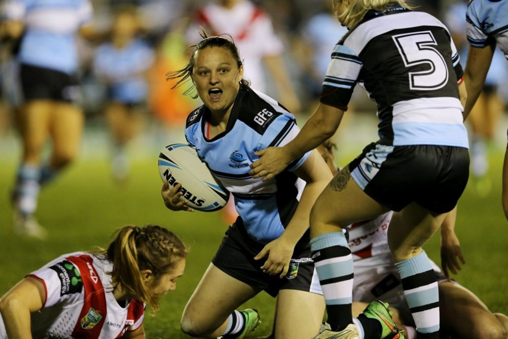 Competition - Womens 1st ever 9s Match, Curtain Raiser to NRL Premiership.