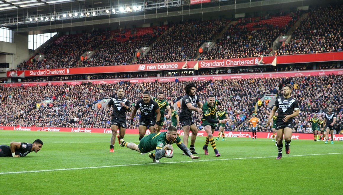 2016 International Rugby League, Four Nations FINAL-  Australia KANGAROOS v New Zealand KIWIS.