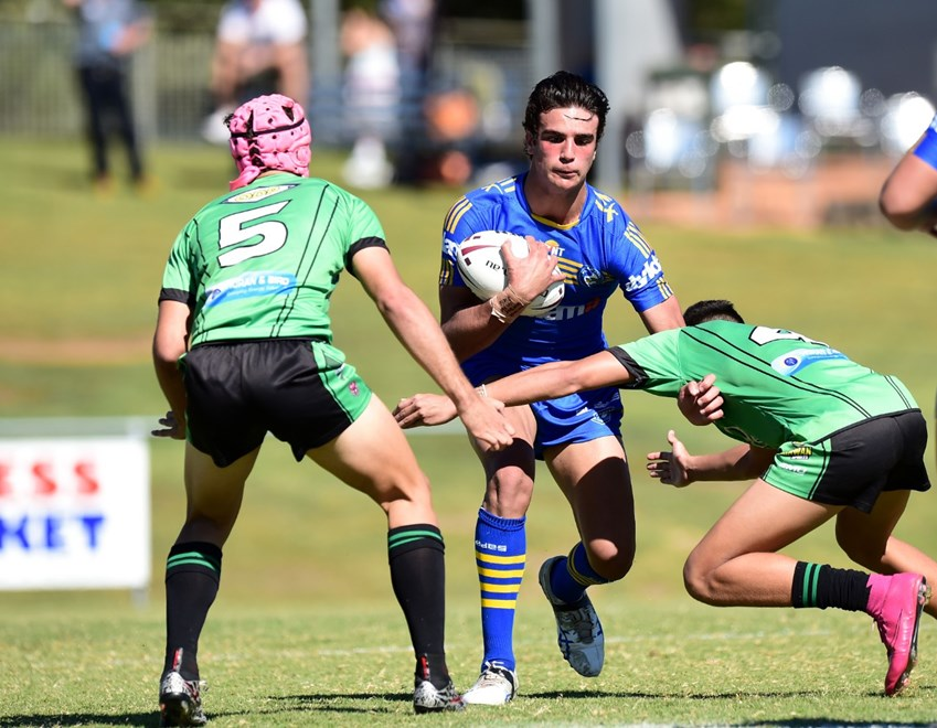 PARRAMATTA EELS - TOWNSVILLE BLACKHAWKS V PARRAMATTA EELS -  PHOTO: SCOTT DAVIS - SMP IMAGES/QRL MEDIA - 15th May 2016 - Images from the National Final of the Cyril Connell Cup