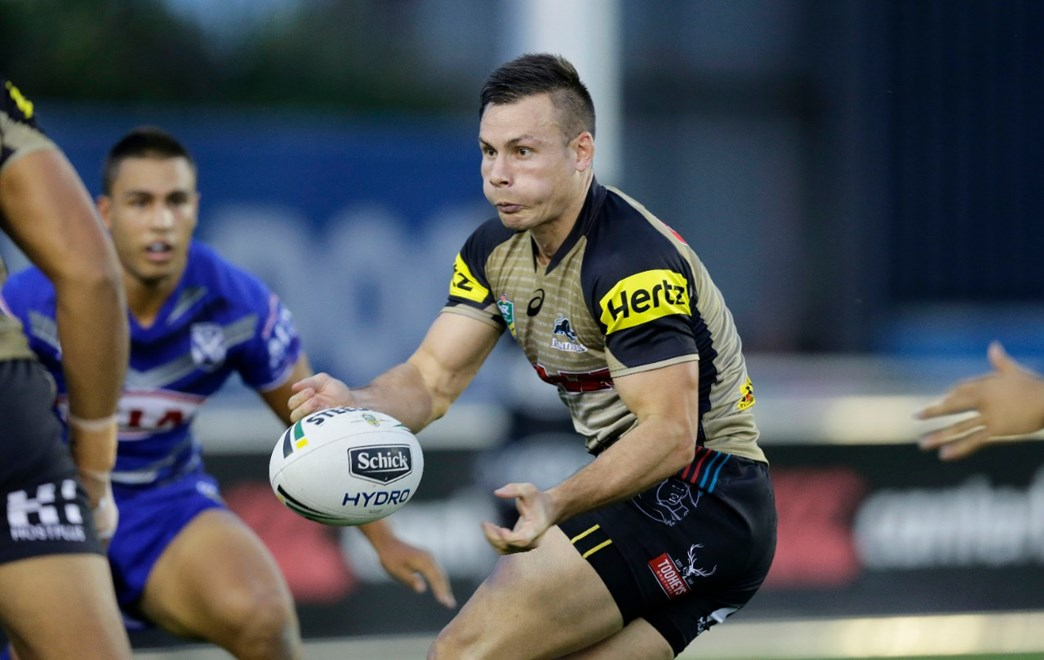 2017 NRL Trial - Bulldogs v Penrith Panthers at Belmore Sportsground