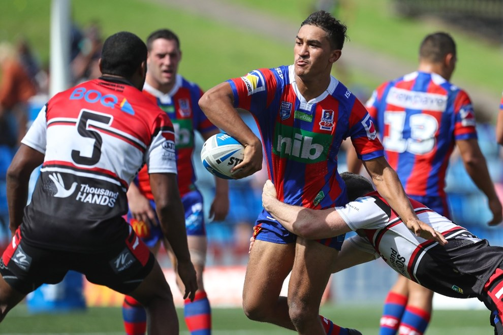 Competition - NRL. Round - Round 3. Teams - Newcastle Knights v South Sydney Rabbitohs. Date - 18th of March 2017. Venue - McDonald Jones Stadium