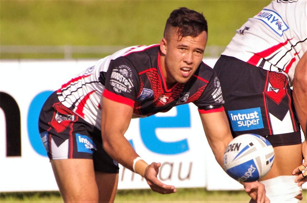 Mounties host the Warriors in Round 7 of the Intrust Super Premiership NSW. Image: David Napper.