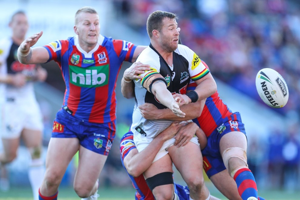 Competition - NRL. Round - Round 11. Teams - Newcastle Knights v Penrith Panthers. Date - 21st of May 2017. Venue - McDonald Jones Stadium