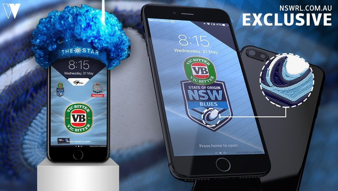 Download Your NSW VB Blues Wallpaper!