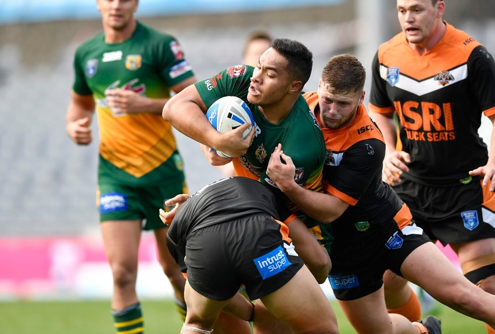 The Wests Tigers host the Wyong Roos in Round 14 of the Intrust Super Premiership NSW. Image: NRL Photos.