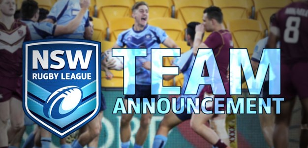 TEAM ANNOUNCEMENT | NSW Under-18s
