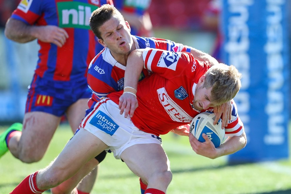 The Newcastle Knights host Illawarra in Round 21 of the Intrust Super Premiership NSW. Image: NRL Photos.