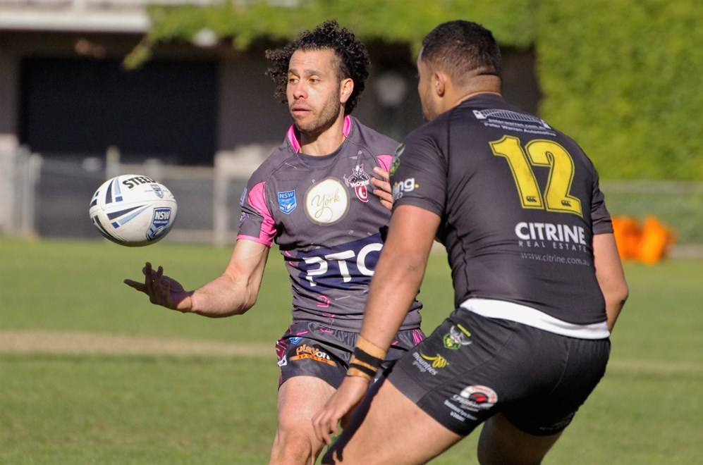 The Concord-Burwood-Glebe Wolves host Mounties in Round 17 of the Ron Massey Cup. Image: David Napper.