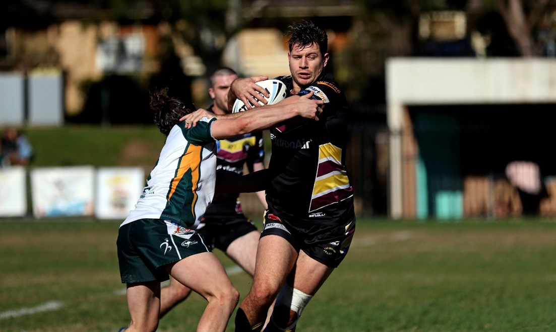 The Hills District Bulls host the St Marys Saints in Round 17 of the Sydney Shield. Image: Bryden Sharp.