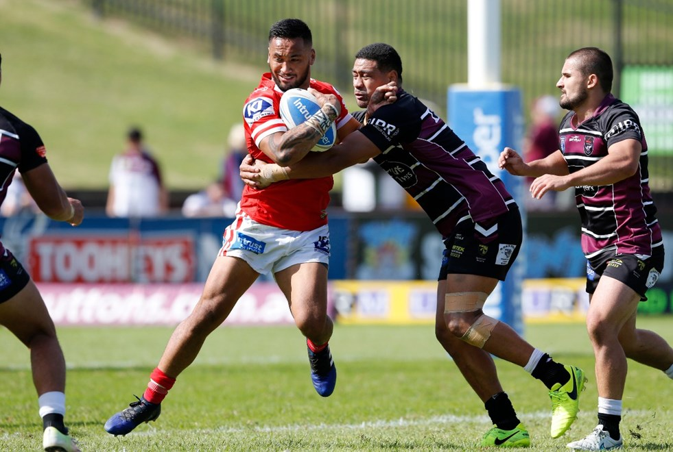 The Blacktown Workers Sea Eagles host Illawarra in Round 6 of the Intrust Super Premiership NSW. Image: NRL Photos.