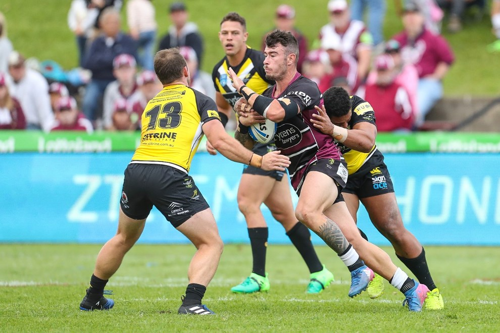 The Blacktown Workers Sea Eagles host Mounties in Round 13 of the Intrust Super Premiership NSW. Image: NRL Photos.