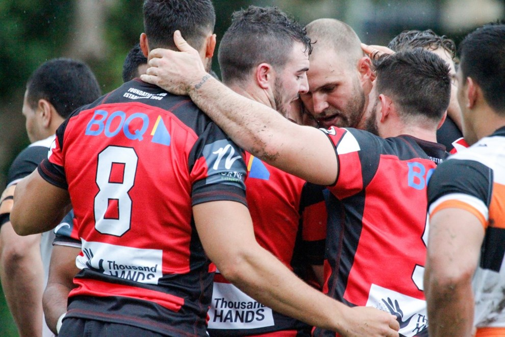 The North Sydney Bears host the Wests Tigers in Round 5 of the Intrust Super Premiership NSW. Image: Steve Little.