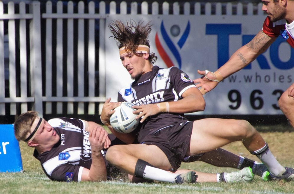 The Wentworthville Magpies host the Concord-Burwood-Glebe Wolves in Round 25 of the Ron Massey Cup. Image: David Napper.