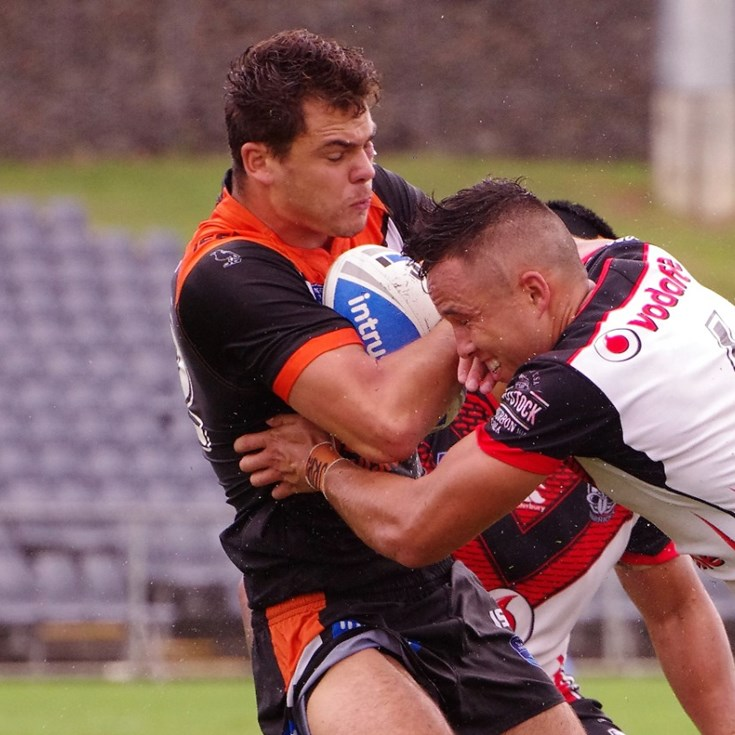 Warriors Thrash Tigers In The Wet