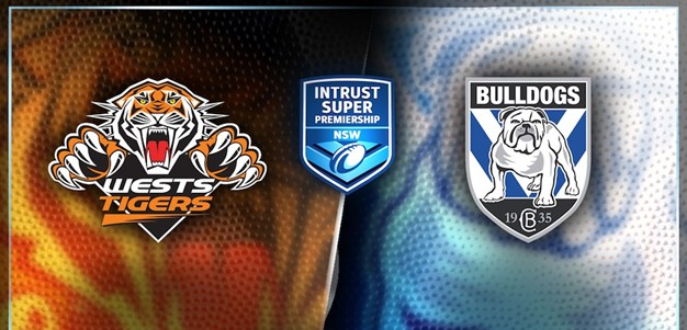 ON DEMAND | ISP NSW Round 24: Wests Tigers v Canterbury-Bankstown Bulldogs