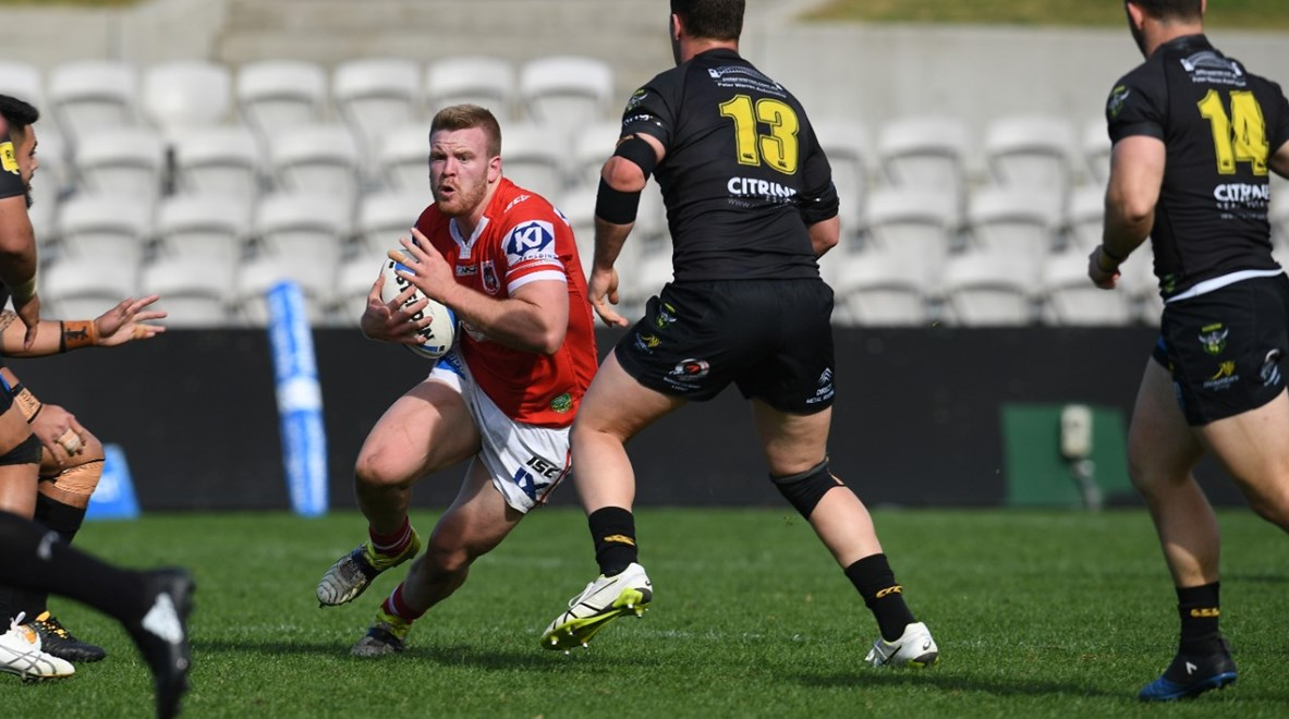 Mounties take on Illawarra in the opening week of the Intrust Super Premiership NSW Finals Series. Image: NRL Photos.