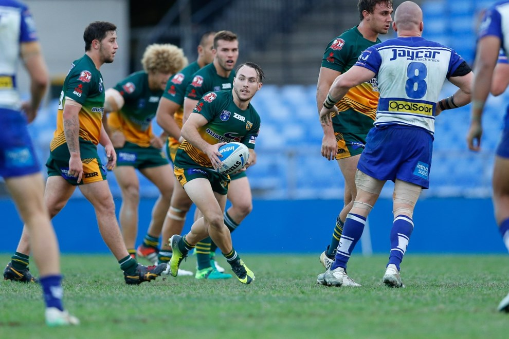 The Canterbury-Bankstown Bulldogs host the Wyong Roos in Round 11 of the Intrust Super Premiership NSW. Image: Kevin Manning.
