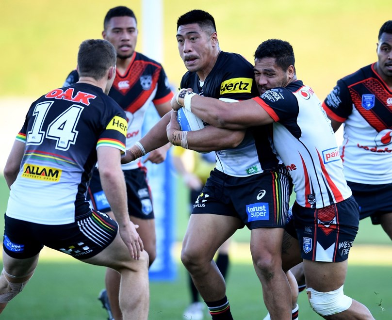 The Warriors take on the Penrith Panthers in the opening week of the Intrust Super Premiership NSW Finals Series. Image: NRL Photos.