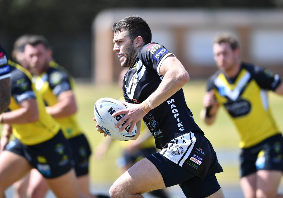 The Wentworthville Magpies take on Mounties in the third week of the Sydney Shield Finals Series. Image: NRL Photos.