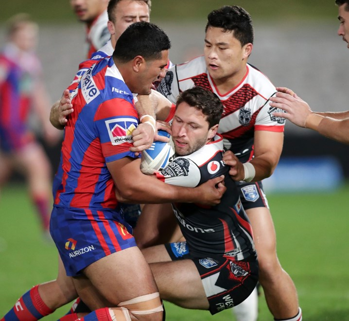 ISP NSW Cup SF NZ Warriors vs Newcastle UOW Jubilee Oval , Kogarah .Picture: Gregg Porteous