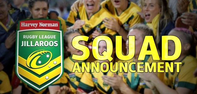Jillaroos Team Revealed