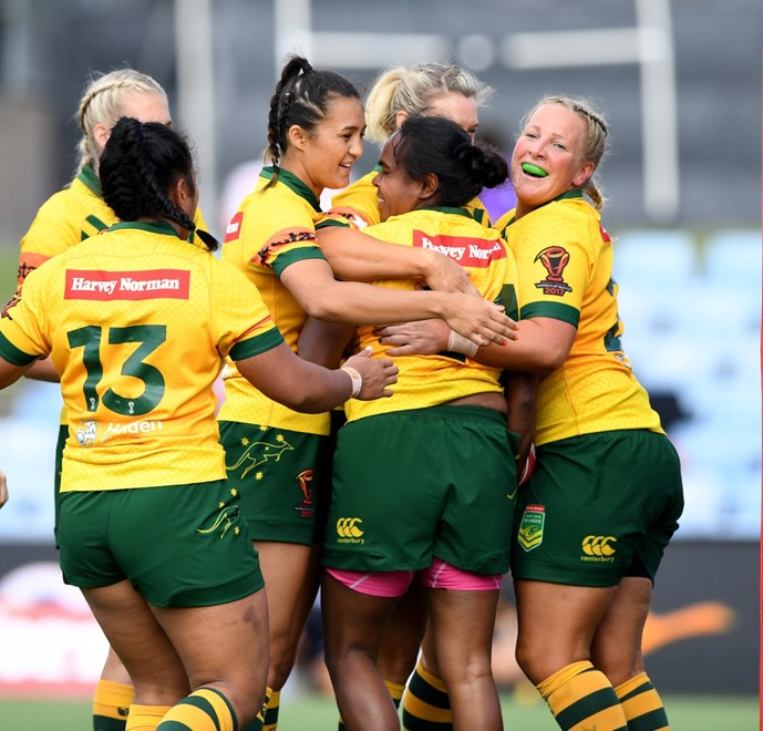 Womens RLWC Round 3 -Australia vs Canada at Southern Cross Group Stadium .Picture : Gregg Porteous