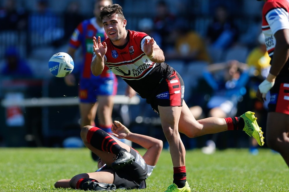 The North Sydney Bears take on the Newcastle Knights in the opening week of the Intrust Super Premiership NSW Finals Series. Image: Kevin Manning.