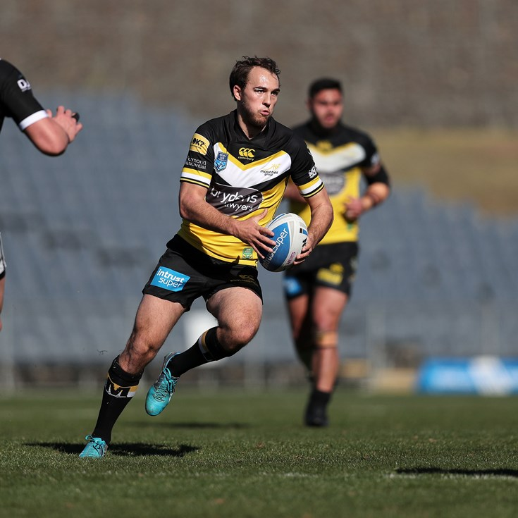 Understrength Mounties Prevail Over Magpies