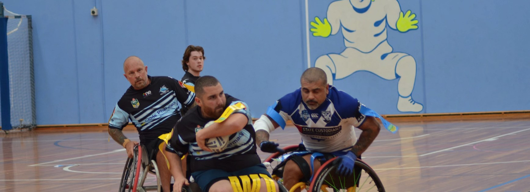 NSW Wheelchair Rugby League for Sydney's North
