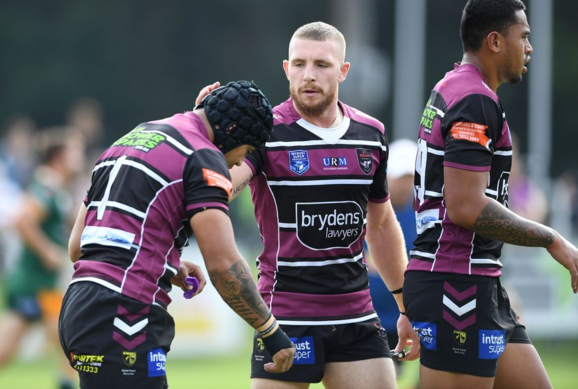 Jackson Hastings playing for Blacktown. Photo: NRL Photos.