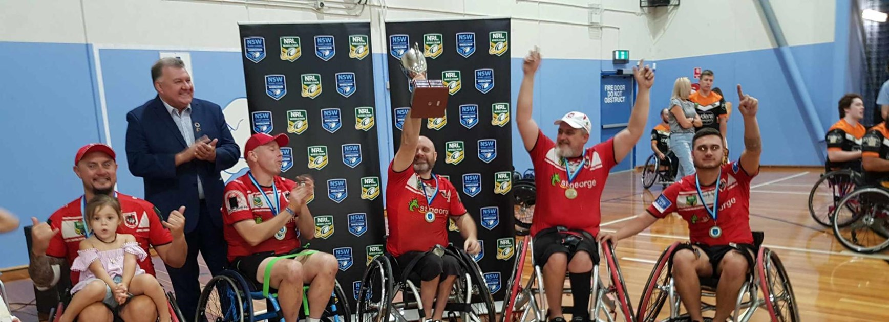 Dragons win Wheelchair Rugby League Grand Final